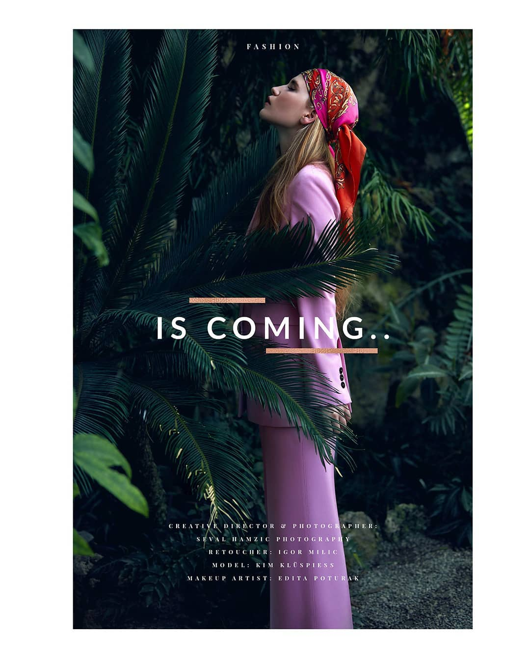 tropic shooting fashionphotography magazines outnow