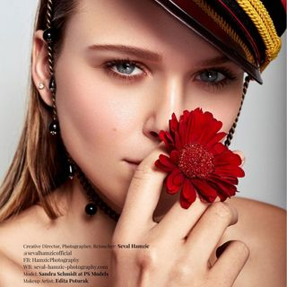 agency face shooting model fashion beauty publication magazine print