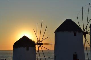 sunsent summer mykonos like4like ig_photooftheday greekislands greece
