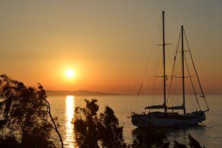 wonderful_mykonos sunset summer2017 summer mykonos2017 mykonos likeforlike like4like ig_greece horizon greece goodvibes boat