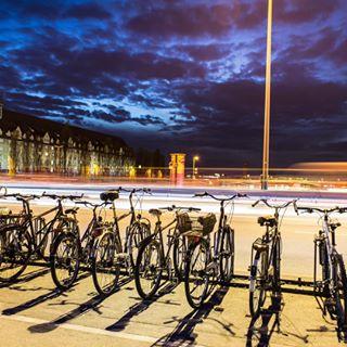clouds building munich standaad clouds☁️ lights bicycle road night street nightturntoday traffic clouds☁ bike bavaria longexposure donnersbergerbrücke