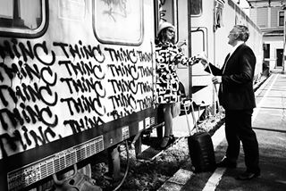 trainstation streetphotography marriage lovers loveeternal city blackandwhitephotography blackandwhite belgrade