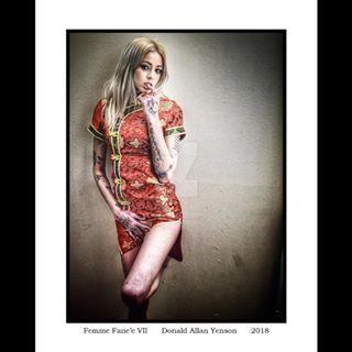 detroitmodel silk red asiandress printsforsale blonde tattoos emogirl