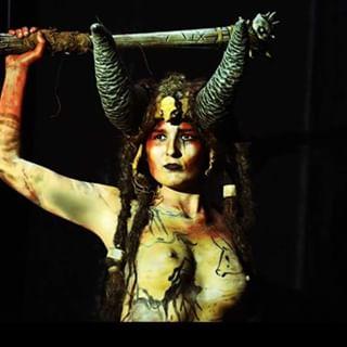 bodypainting fineartphotography ilovephotography italianintheworld❤ nikond5200📷 paleograffiti powerwomen warrior