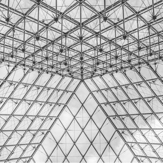 structure architecture trip city mus bw canon europe paris glass sky wideangle shot