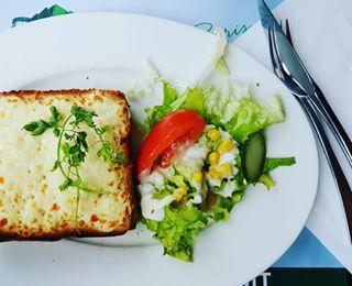 cafedeluna cityoflove croquemonsieur enjoying food foodpoen gayboys happiness husband instafood instagram love lunch paris thebiteshot