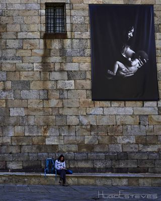 woman caminosantiago mother black baby photo