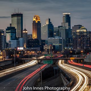 explorempls longexposure mplsskyline mplsphotographer nightlights canon7dmarkii bluehour minnstagram minnstagrammers exploremn instaskyline