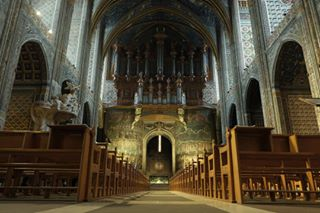 albi albitourisme beautiful_explorers cathedral catholicism church france fujigrapher shadows symmetry tourism