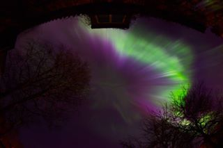 2015 amazing aurora auroraborealis beautiful canon estonia fisheye night nightsky northernlights spring stars tallinn
