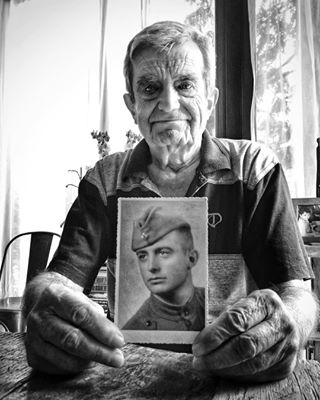 6may blackandwhite bnw bulgaria family georgi gergiovden grandfather grandpa love memories oldman oldphoto sofia soldier stgeorge георги гергьовден дядо дядогошо