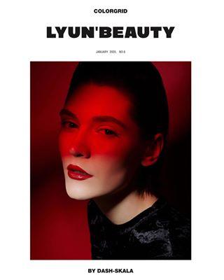 color dashskala magazine retouch photography red beauty fashionphotography