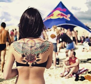 travelphoto aistephotography beach wingtattoo travel beachlife beachparty travelphotography ourdoor pictureoftheday beachlife🌴🌞🌊🏄👌💁🐕 picoftheday tattoos girl wings photooftheday tattoo travelphotographer outdoors