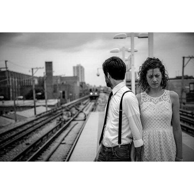 cta portraitphotography streetphotography ctaredline chicagoportraits jpdx_photo artphotography bwphotography engagementphotos fringefashionpdx throwback