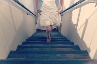 bride thewalk bridetobe walkingupthestairs wedding stairsandsteps weddingtobe stairwaytoheaven walking bridedress sexylegs walkingslowly staircases weddingdress