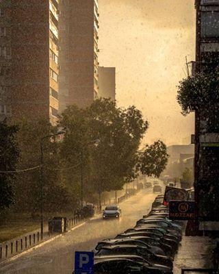 urbanlandscape summer rain nikond5100 downpour belgrade