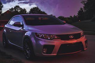 carsoflouisville import jdm stance bagged kdm jdmgram slammed carsofinstagram forte koup sunset storm neon kia