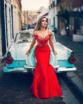 model graduaciones dress prom shooting ford vintage byme📷 proms pink car