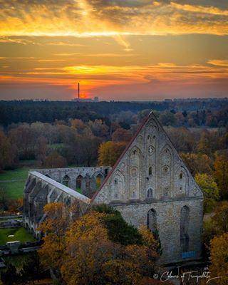 convent sunrises pirita klooster piritaklooster ruins monastery