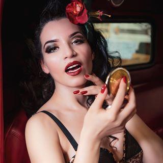 burlesque onlocation calendarshoot makeup collaboration mua racecar hotrod dmifinterested photoshoot