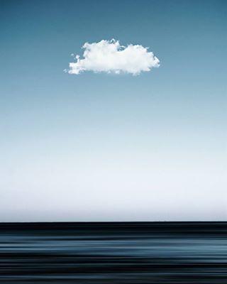 clouds sea white cloud memories sky blue horizon lines minimal art photooftheday love landscape nature photography