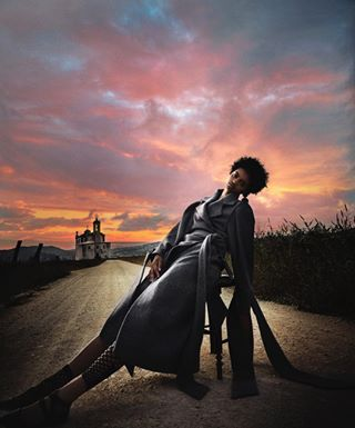 church dramatic sky mag makeup luiscarvalho sunset simple cover mood 35mm fashionsustainability mangonewvoices naturalbeauty magazine editorial sony color emotions greencircle shooting