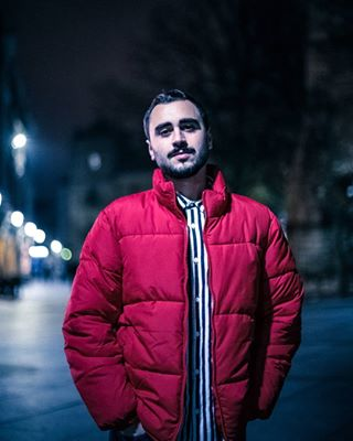 night model beard canon avilés darkness lightroom street boy light reflex spain autumn pose red asturias photography color portraitphotography portrait_shots portrait november cold españa style bright shooting urban 50mm