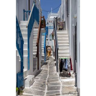 modelcitizenmag followforfollowback follow amazingmoments photographerslife panagiotislimperopoulos fashionphotographer walkingpath grey white bluecolor canontraveller canongreece streetphotography streetphotographer visitingmykonos