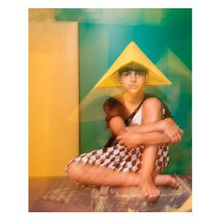 boy yellow green color littlecreativefactory