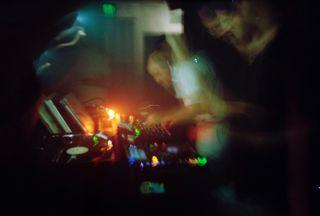 analog filmsnotdead analogphotography 35mm dj night technochill techouse techno