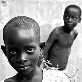 monochrome africa facialexpression baby theinnocent child benin boy portrait photo photography blackandwhite son photowork face pensive family people sorridikonouafricaonlus