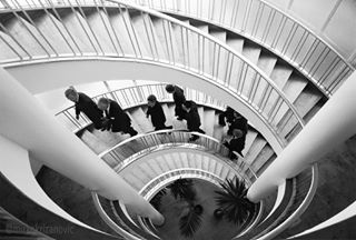 stairs fineartprints potd blackandwhite picoftheday office www photo streetphotography l4l finance epsondigigraphy bw_lover financial germany lawyers money stairwell advisors bwstyles_gf architecture facility frankfurt leica mkmoment
