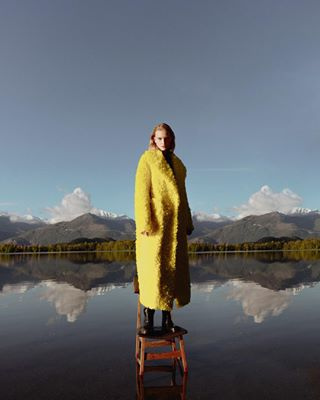 reflection fashionphotography lake juliamorozova artistic contributormagazine alps