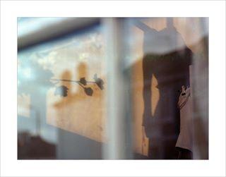 window reflections mediumformatfilm abstractart 1 abstractphotography kodak shadows portra160
