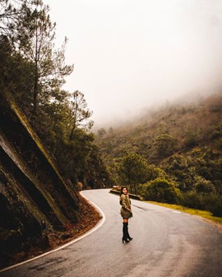 roadsurface mountain cloud morning epicgames canon tree talentoportugues road portugal_a_gramas portugal_em_fotos photolove instapic travel trees shooters_pt snapshot photography forest sky igersportugal nature landscape street humans_pt atmosphericphenomenon
