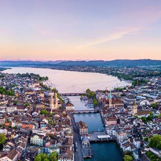 sun drone picoftheday amazing train view landscape summer fly dronestagram colors aerial pic river photography sunset city station switzerland zurich clouds sky beautiful cityscape