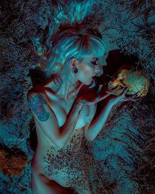 nature tattooed models darkbeauty grungegirl necktattoo photographs piercedgirl inkedgirls bluehair photographer gothgoth nudephotography beauty tat darkartists skull photoshoot death darkmakeup remonberkersphotography love inkstagram inked sombrebeings tattooideas altmodel