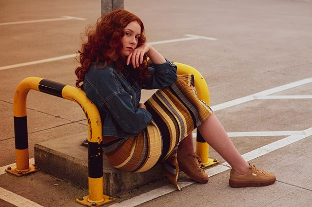 fashion camera awesomeportrait streetwear curls dress canon7d girl colors portraitcrack portraitmood portraiture shoes portrait_mf portraitmode fashionphotography portraitphotography yellow street photography