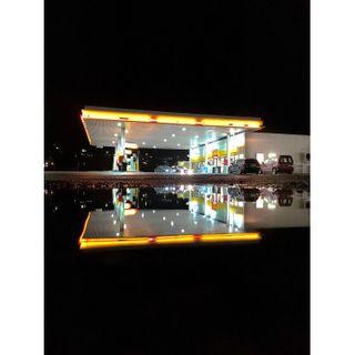 gasstation raw_reflection rainlover nordland jj_streetshots night_shots_ igworldclub_cityscape ig_street nightphotography sandnessj puddlegram scandinavianstyle igworldclub igersnorway igworldclub_reflections best_streetview reflection_super_pics norway shellgasstation norwaytravel reflection reflexion reflection_focus_on