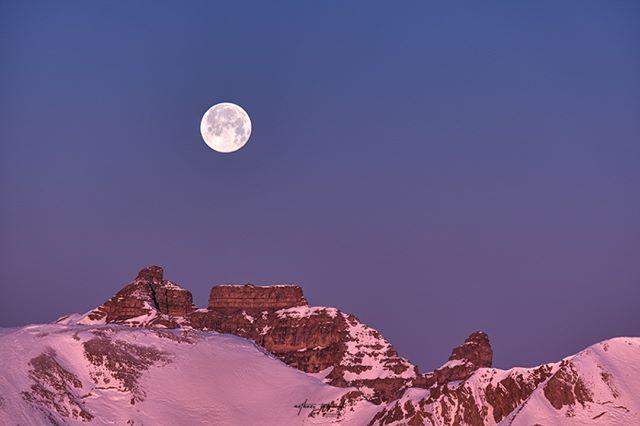 fujifilm mercantournationalpark auron fujifilmxt3 stdalmasleselvage tinee stetiennedetinee mymercantour moon sunrise