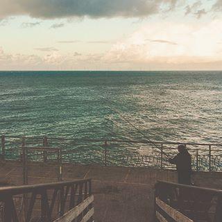 blue light traveling travelgram landscapephotography clouds morningmotivation pier travelphotography sea quote morning llandudno wave photography explore nature travelling moodygrams instatravel visualambassadors horizon lake travel fishing