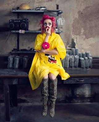 actress dancer portraitphotography kiccatommasi portraiture yellow portraitpage unvaelijournal timetobehave hippomag taintedmag sombrebeings sombresociety ithosmag photocinematica theportraitbazaar somewheremagazine realismmag reframedmag take_magazine fineartphotography