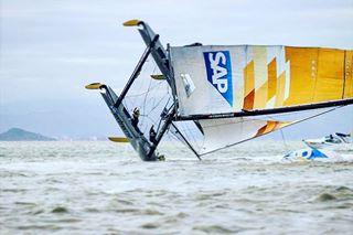 sport sorenwiegand shit brazil exss tbt ex40 nosedive sap fast crash sports sail water sailinglife tb monday oops sailing warm catamaran sailingphotographer