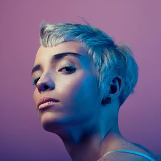 trendvision fashion fashionphotographer nogender hair queer blue androgynous pink wella beauty
