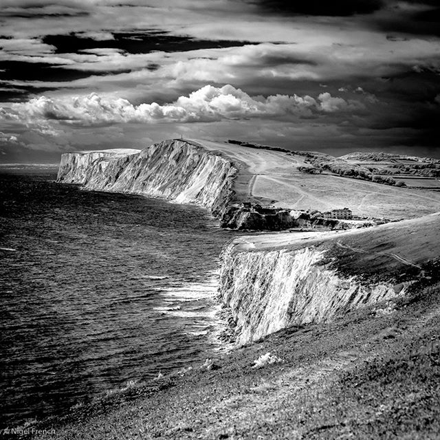 highcontrast crreativeir infrared blackandwhite isleofwight nigelfrench isleofwightphotography landscapephotography clouds tennysondown infraredphotography infraredimages