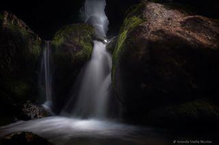waterfall cascade nature padis