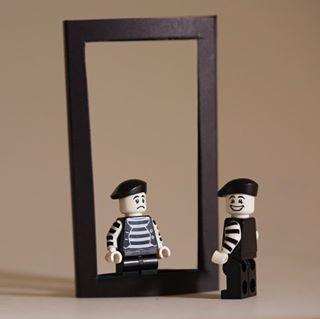mime_artist legophotography canonphotography legoart legoinstagram legominifigures lego lego® lego_hub reflection