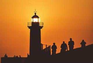 atlanticocean europe europe_pics faroldasfelgueiras igers_porto lighthouse lighthouse_captures lighthouse_world ocean oceansunset orange porto portugal portugal_vacations shadowhunters shadows sunsetbeach sunset_ig sunset_pics