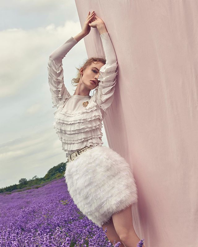 lavender editorial fashionphotography photography style chanel photographer