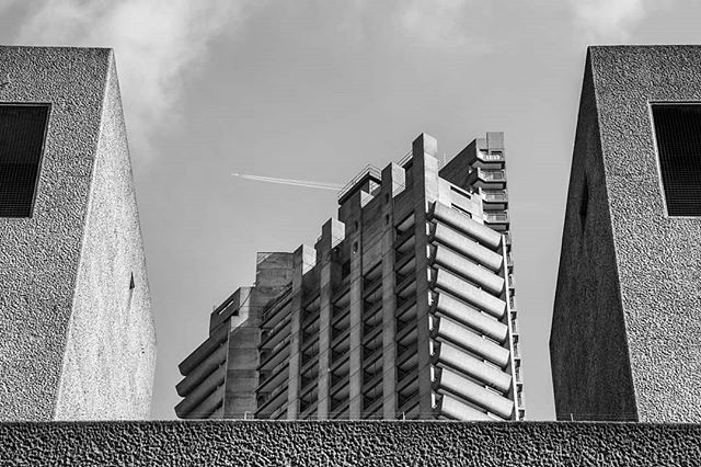 blackandwhite lost photography barbican silence london buildings architecture londonphotography explore anonymity